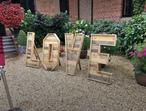 Wedding LOVE letters to hire-4 feet high
