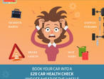 Save from a year of unexpected costs on your vehicle today by booking in a car health check right to you!
