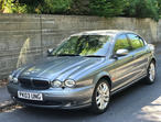 Jaguar X-TYPE, 2003 (03) Grey Saloon, Manual Petrol, 64,568 miles