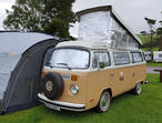 VW T2 1979 Baywindow pop top camper van