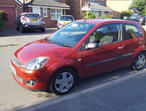 Ford Fiesta, 2006 (06) Red Hatchback, Manual Petrol, 63,000 miles