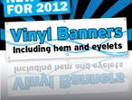 Durable and affordable banners and accessories