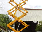 Truck Mounted Scissor Lift - Hydraulic Mounted Scissor Lift.