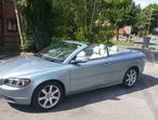 Volvo C70, 2007 (57) Blue Convertible, Automatic Petrol, 71,000 miles