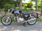 1972 DUCATI 750GT EXCELLENT ORIGINAL CONDITION EARLY MODEL ORIGINAL BLACK COLOR