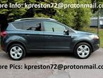 Ford Kuga, 2009 (58) Grey Estate, Manual Diesel, 80,520 miles