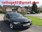 BMW 118d, 2009 (59) Black Hatchback, Manual Diesel, 68,510 miles