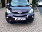 Toyota URBAN CRUISER, 2010 (59) Purple Hatchback, Manual Petrol, 15,000 miles