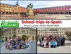 School Trips to Spain – Make Memorable with RocknRoll Adventures