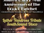 2 Year Anniversary of The Hook & Hatchet with Luther Vandross Tribute & Disco
