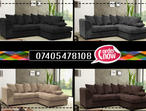 BRAND NEW DYLAN BYRON LEFT/RIGHT HAND CORNER OR 3+2 SEAT SOFA SET IN VARIOUS COLORS
