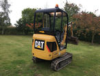 2013 Mini Digger Caterpillar CAT 301.4C