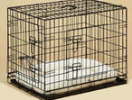 "Large 48"" Dog/Cat Cage Collapsible New Boxed"