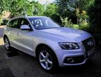 Audi Q5, 2009 (58) Silver Estate, Manual Diesel, 125,630 miles