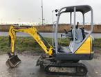2014 Wacker Neuson 1404 Mini Digger Excavator