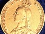 Queen Victoria 22ct Full Gold Sovereign 1892 British Coin