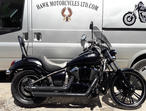 FANTASTIC 2010 KAWASAKI VN900 CAF CUSTOM SPECIAL, 24763 MILES, EXTRA WIDE BACK TYRE