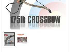 175lb draw rifle crossbow
