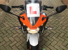 Low Milage Honda CBR 125 RW-B