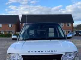 Land Rover Range Rover, 2007 (07) White Estate, Automatic Diesel, 117,540 miles