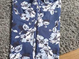 Ladies floral trousers