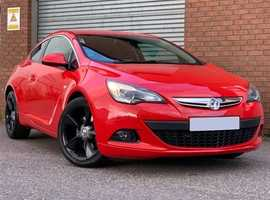 Low Mileage Vauxhall Astra GTC 1.6 T 180 SRI, 3 Door Turbo Edition, Gorgeous Car, Perfect Colour