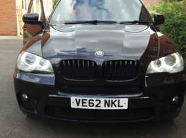 BMW X5, 2012 (62) Black Estate, Automatic Diesel, 82,000 miles
