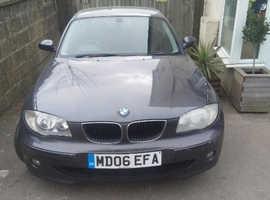 BMW 1 series, 2006 (06) Grey Hatchback, Manual Diesel £2350 ovno