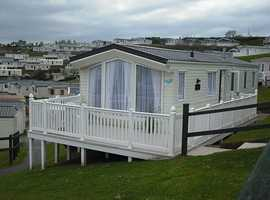 2 Private Caravans to let at Haven Devon Cliffs