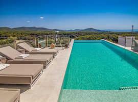 Ibiza Luxury Villa with spectacular panoramic views - £1,900/week