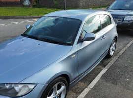 BMW 1 series, 2011 (61) Blue Hatchback, Manual Diesel, 108,144 miles