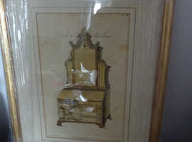 Thomas Chippendale Catalogue Reproductions on Card Sofa print is Wood&Glass;Bookcase is Wood&Perspex