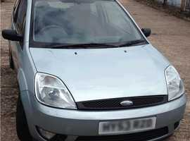 Ford Fiesta, 2003 (53) Green Hatchback, Manual Petrol, 66,000 miles