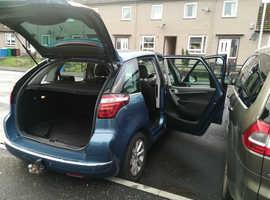 Citroen C4, 2011 (11) Blue MPV, Semi auto Diesel, 54,297 miles