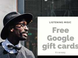 Earn free Google play gift cards and PayPal