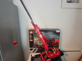 Lego technic off road crane 42082