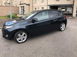 Toyota Auris, 2013 (13) Grey Hatchback, Manual Petrol, 40,600 miles