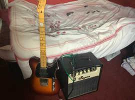 Fender Telecaster Modern player & Bugera 15w Amp