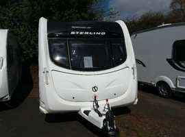 Sterling Eccles Solitaire caravan for sale