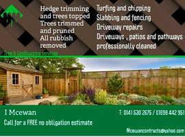 I Mcewan  Tree & Landscaping services
