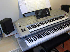 Yamaha Tyros 2. Mint Condition. Home use Only, None Smoker, Always kept covered