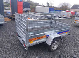 NEW Trailer 7x4 with 80cm ramp and mesh £840
