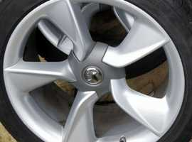 19×inch fanblade wheels gtc astra