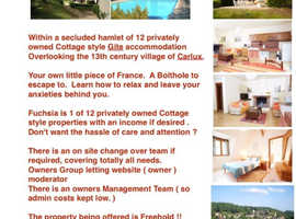 """Your own """" Bolthole """" Holiday home in the Dirdogne Francec"""