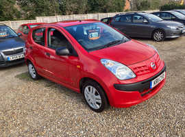 Nissan Pixo, 2011 (11) Red Hatchback, Manual Petrol, 31,952 miles