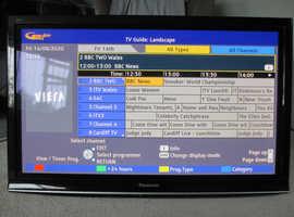 PANASONIC 42 INCH PLASMA VIERA TELEVISION