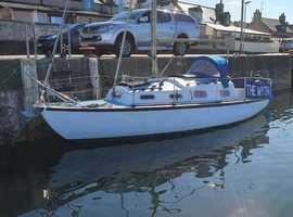 24' five berth sailing cruising yacht