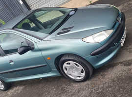 Peugeot 206, 1999 (S) Green Hatchback, Manual Petrol, 71,990 miles
