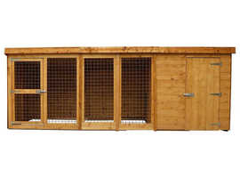 Small kennel and run £140.00
