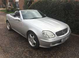 Mercedes Slk, 2000 (X) Silver Convertible, Manual Petrol, 96,000 miles